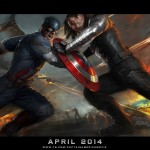 Captain America The Winter Soldier concept poster