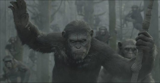 Caeser in Dawn of the Planet of the Apes