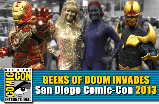 SDCC 2013: Cosplay banner