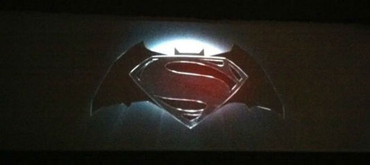 SDCC Superman Batman logo