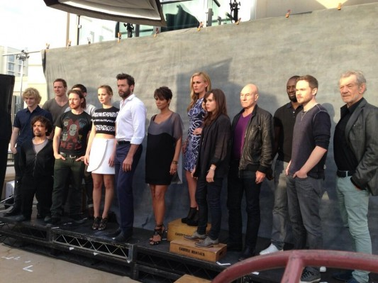 X-Men: Days Of Future Past cast Comic-Con close-up