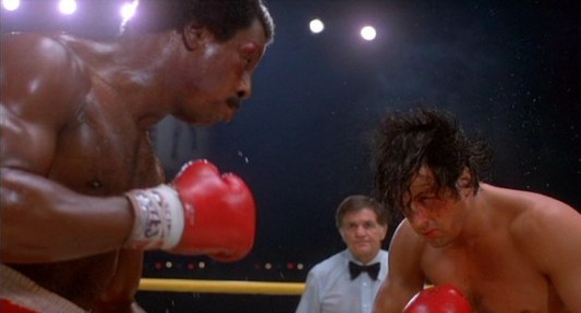 Apollo Creed and Rocky Balboa Image