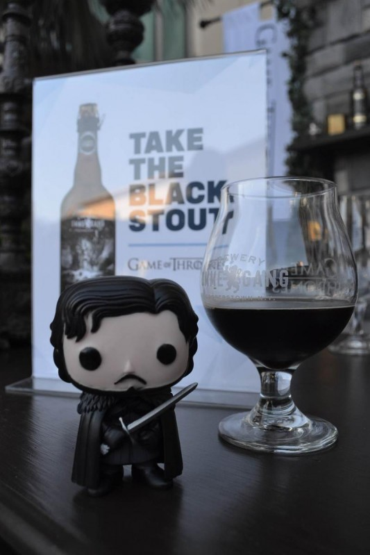 Game Of Thrones Take the Black Stout Beer