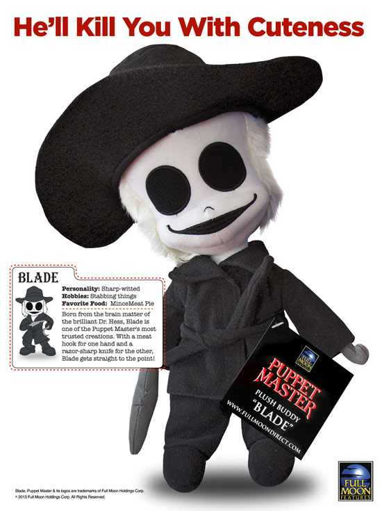 Plush Buddy Blade with stats