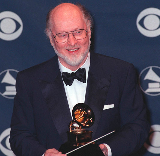 John Williams at the 41st Annual Grammy Awards in Los Angeles