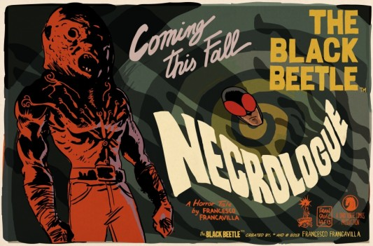 Francesco Francavilla The Black Beetle Necrologue