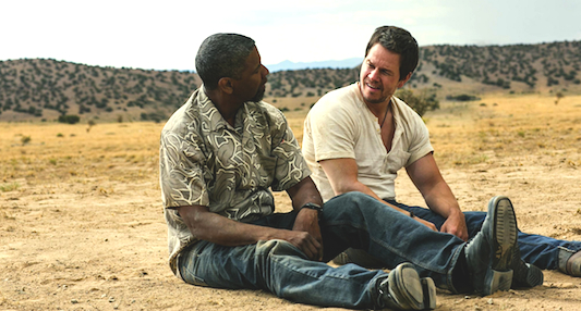 2 Guns: Wahlberg and Washington