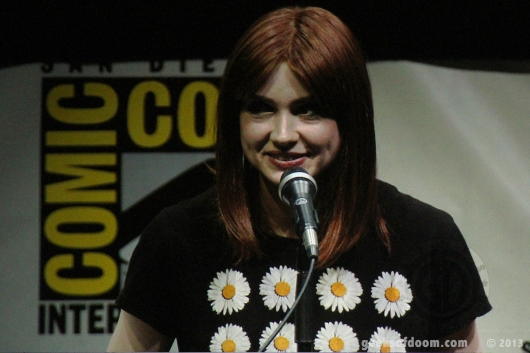 SDCC 2013: Karen Gillan, Guardians Of The Galaxy Panel 01