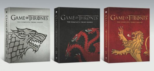 Game of Thrones: The Complete Third Season Best Buy Exclusive DVD Editions