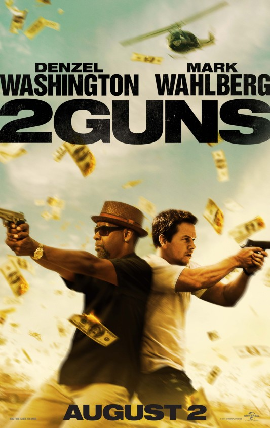 2 Guns one sheet movie poster