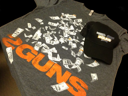 2 Guns prize pack photo