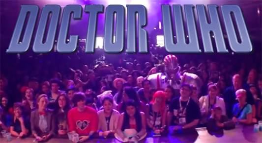 Watch Now: 600 Whovians Sing The Doctor Who Theme Song
