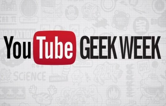 YouTube Geek Week Image