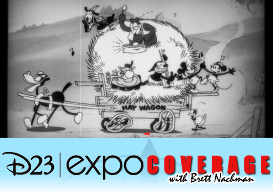 D23 Expo 2013: Mickey Mouse: Get A Horse banner