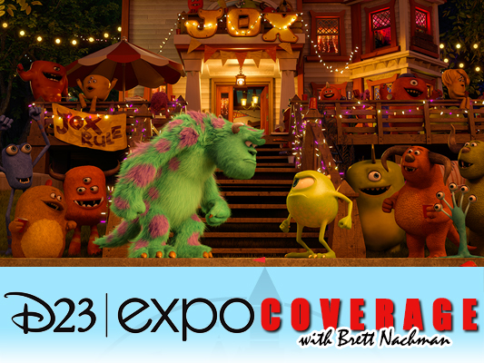 D23 Expo: Monsters University: Party Central banner
