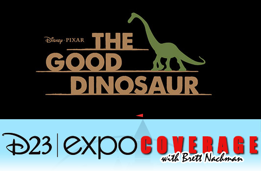 D23 Expo 2013: Disney Pixar The Good Dinosaur banner