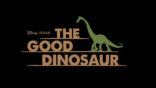 Disney Pixar The Good Dinosaur title