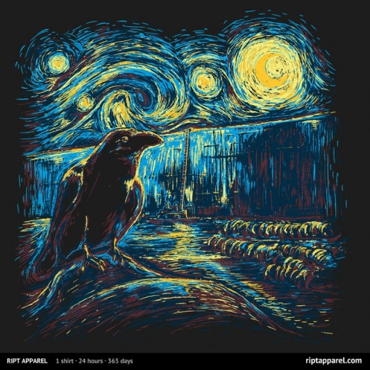 Game Of Thrones Starry Night's Watch design