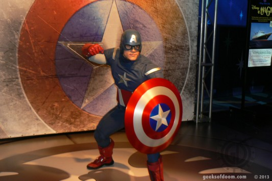 D23 Expo 2013: Captain America 03