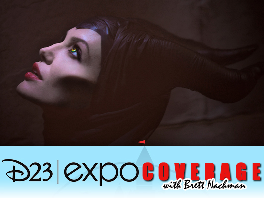 D23 Expo 2013: Maleficent banner