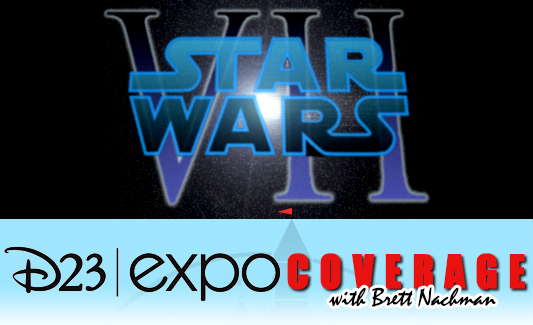 D23 Expo 2013: Star Wars: Episode VII banner