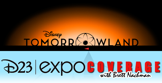 D23 Expo 2013: Tomorrowland banner