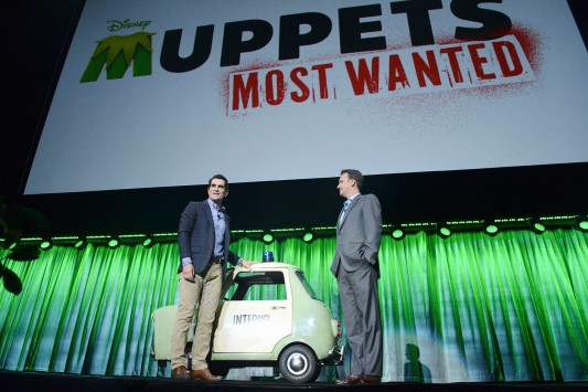 D23 ExpoTy Burrell Muppets Most Wanted