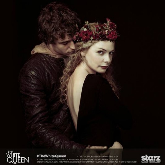 Starz The White Queen Elizabeth and King Edward IV