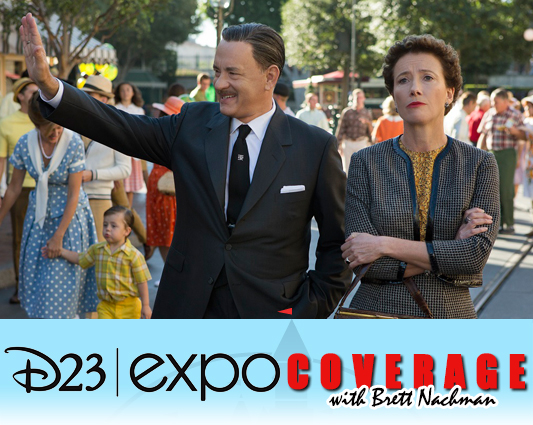 D23 Expo 2013: Saving Mr. Banks banner