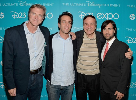 Disney D23 Expo Saving Mr. Banks Jason Schwartzman & B.J. Novak