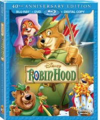 Walt Disney Home Video: Robin Hood blu-ray