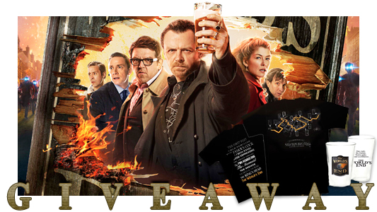 The Worlds End giveaway banner