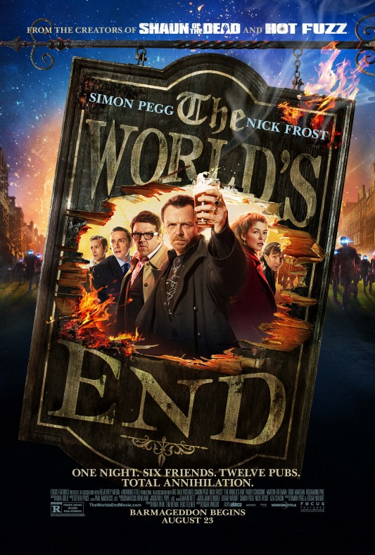 The Worlds End one-sheet