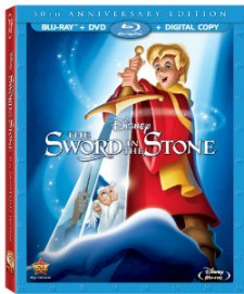 The Sword in the Stone Blu-ray Cover