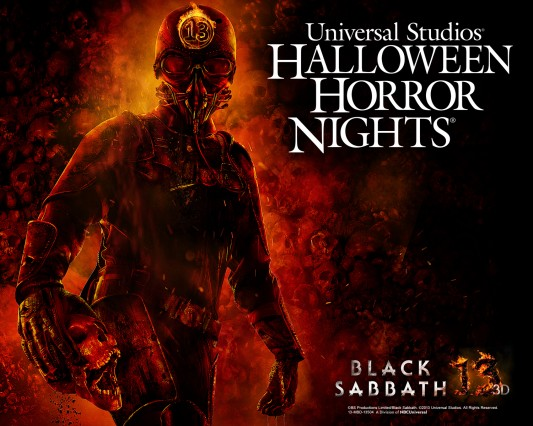Black Sabbath Halloween Horror Nights 2013
