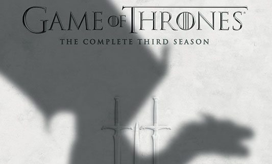 Game Of Thrones: The Complete Third Season DVD title
