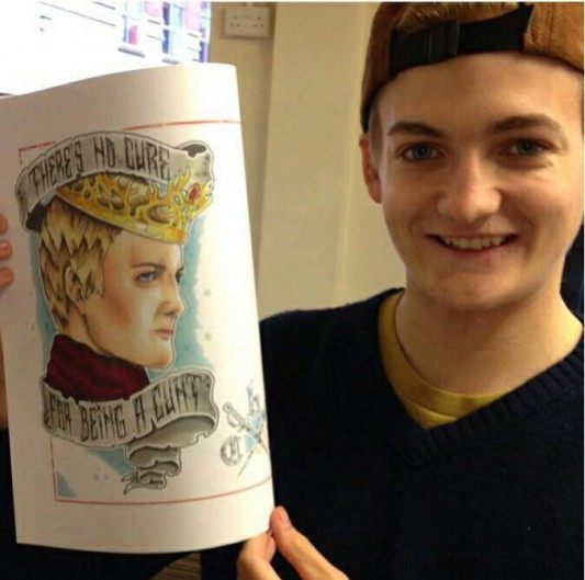 Proof That Game Of Thrones King Joffrey Actor Jack Gleeson Is A Good Sport