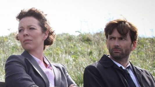Oliva Colman David Tennant Broadchurch BBC America