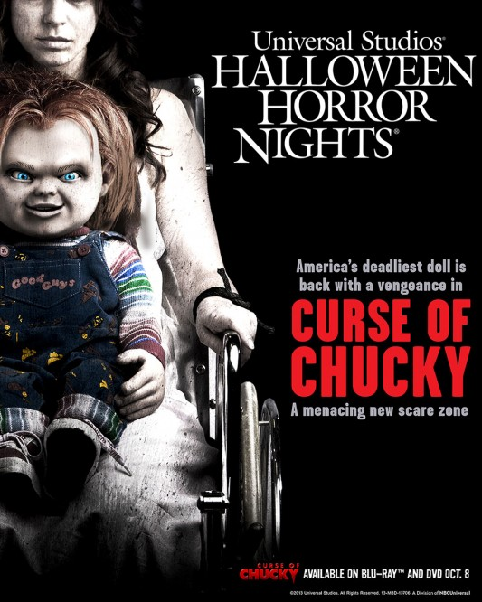 Curse Of Chucky Universal Studios Halloween Horror Nights 2013
