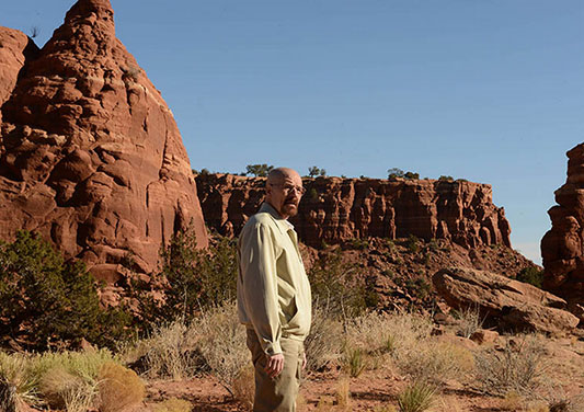 Walter White (Bryan Cranston) in Breaking Bad Episode 10. Photo by Ursula Coyote/AMC