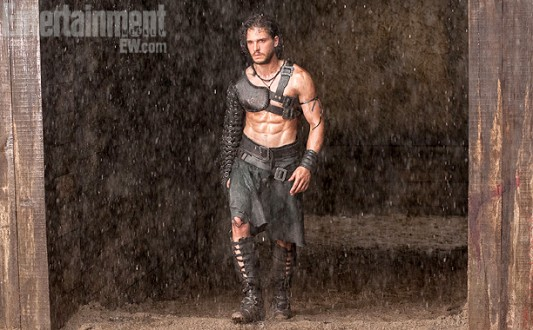 Kit Harington in Pompeii