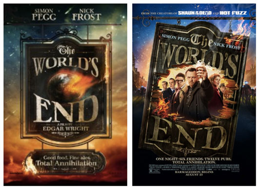 The World's End posters
