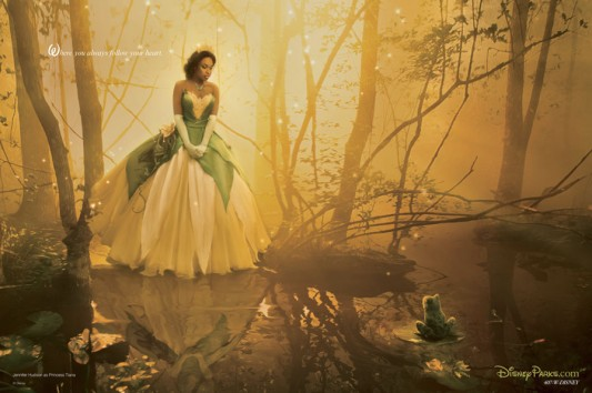 Disney Dream Portrait: Jennifer Hudson As Tiana From The Princess and the Frog