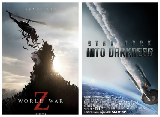 Star Trek Into Darkness World War Z Double Feature