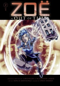 Zoe: Out Of Time #2 cover by Derlis Santacruz