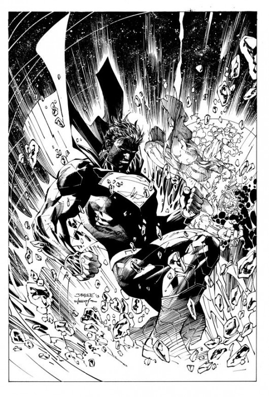 Jim Lee Superman Unchained sneak peek