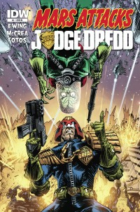 Mars Attacks Judge Dredd #1