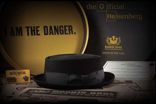 Breaking Bad Collector's Edition Heisenberg Hat by Goorin Bros