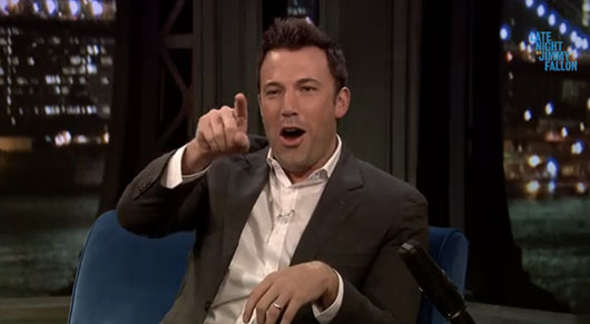 Ben Affleck Talks Batman Casting On Late Night with Jimmy Fallon