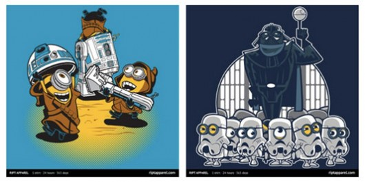 The Despicable Me Minions Invade Star Wars